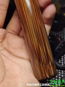 几十块钱的小玩意儿棕竹,简直美到骨子里,还会发光!
