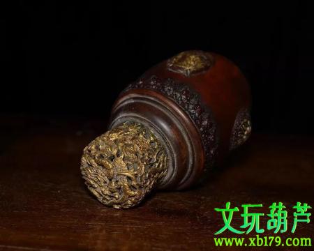 明代草里金葫芦,香港佳士得拍卖行拍出100万!